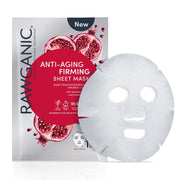 Box of 6 RAWGANIC Anti-ageing & Firming Sheet Mask