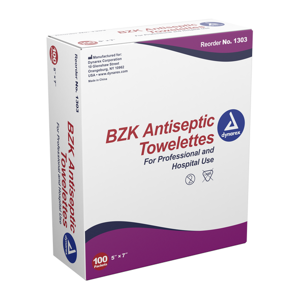 BZK Antiseptic Towelettes *1000ct