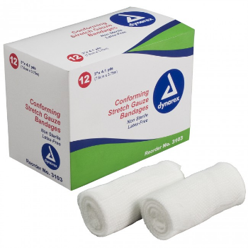 GAUZE STRETCH BANDAGES - NON-STERILE