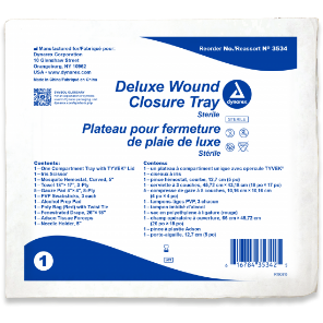 WOUND CLOSURE TRAY, STERILE 20 count