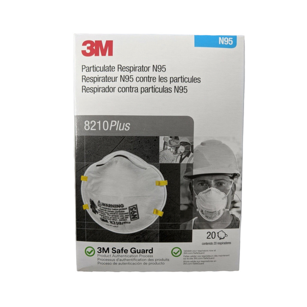 Mask N95 8210Plus ***3M Brand*** (20 pack=1 box)