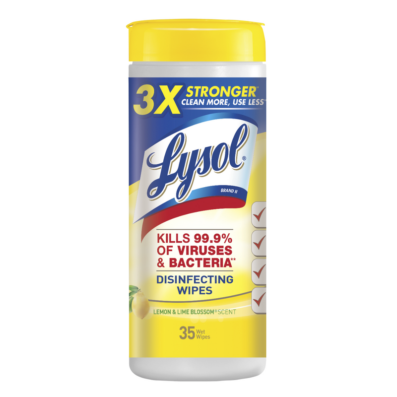Lysol Disinfectant Wipe, 35ct (LIMIT 2 PER CUSTOMER PER DAY)