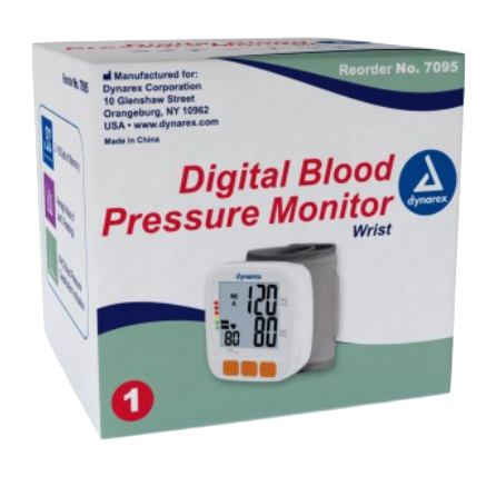 Blood Pressure Machine (Wrist) Qty 1