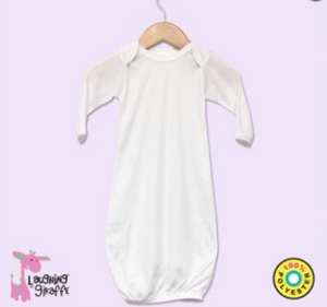 Infant  Gown White Polyester