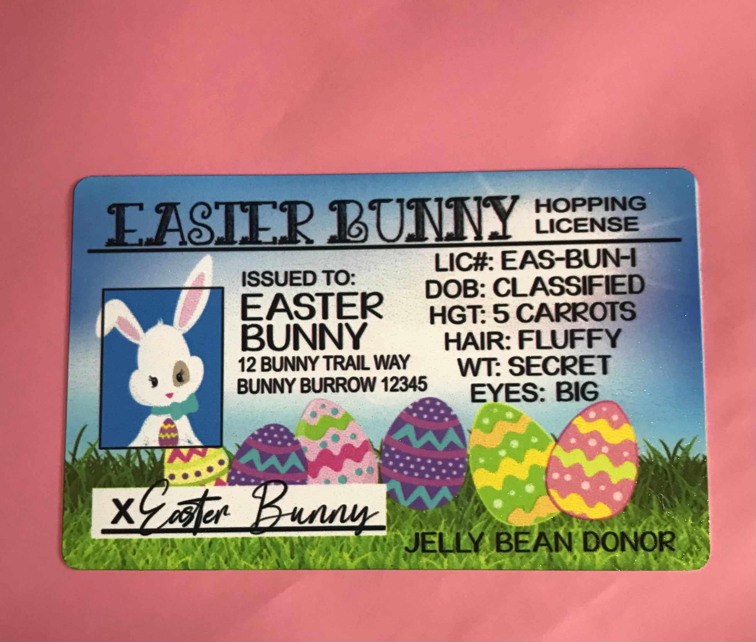 Business cards - character cards Easter Christmas