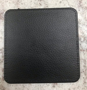 Sublimation leather Coasters Square