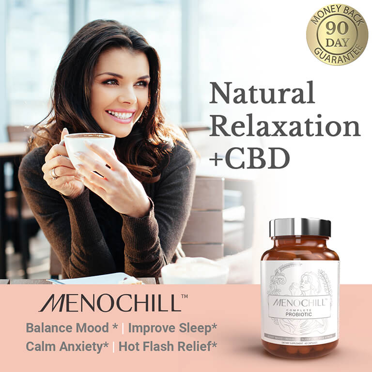 MenoChill Probiotic for Sleep and Anxiety
