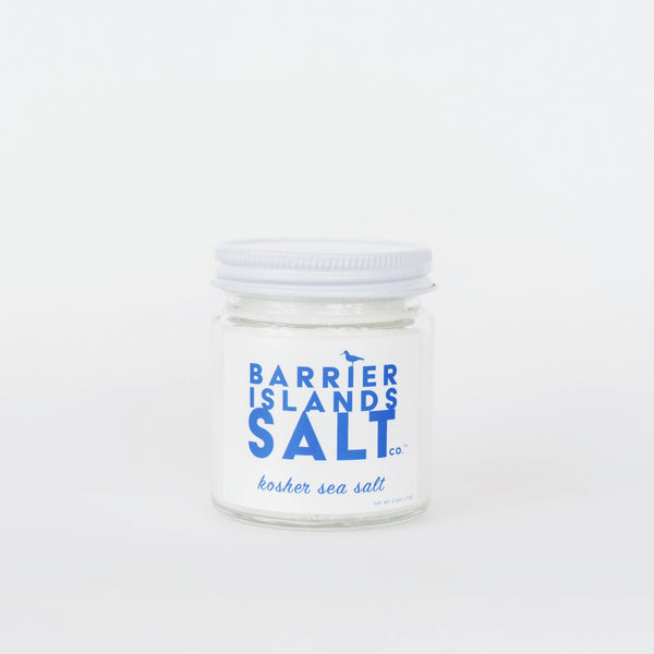 Barrier Islands Salt Co. Pure Kosher Sea Salt Jar