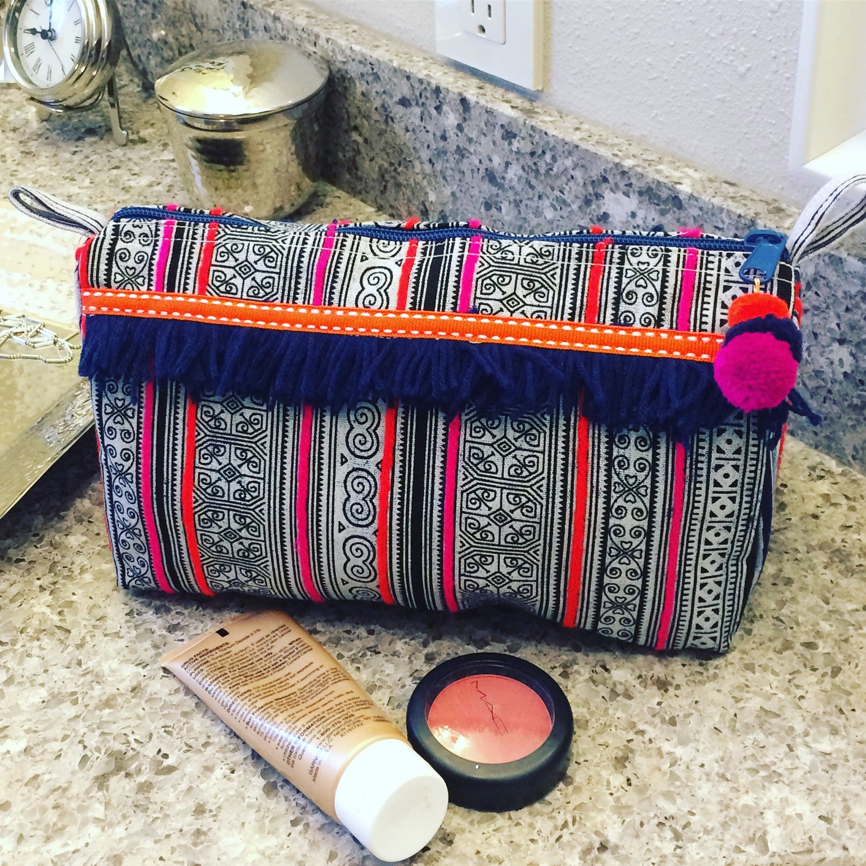 New Fair Trade Makeup Bags & Toiletry Bags