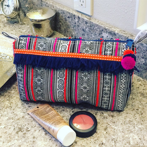 Hmong Toiletry Bag