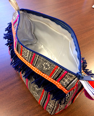 Hmong Toiletry Bag Inside