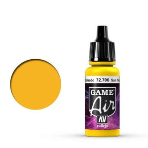 Vallejo Game Air 706 Sunblast Yellow, 17 ml