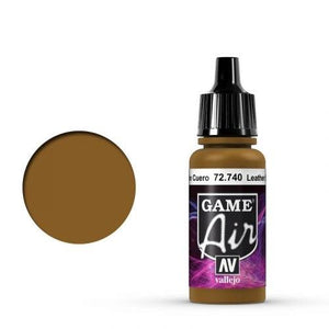 Vallejo Game Air 740 Leather Brown, 17 ml
