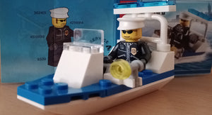 Lego City Polizei Boot 30002