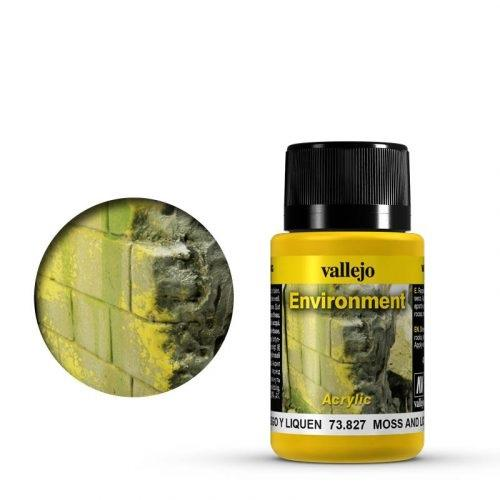 Vallejo Weathering Effects Environment Moss and Lichen Eff. 40 ml