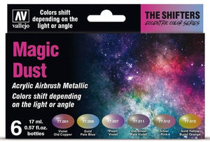 Vallejo Shifters Set - Magic Dust (6x 17ml)