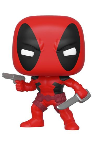 Marvel 80th POP! Marvel Vinyl Figur Deadpool (First Appearance) 9 cm