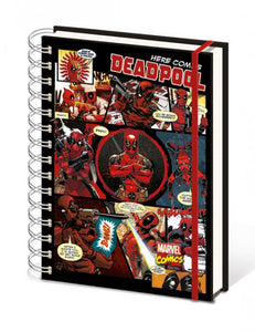Marvel Comics Notizbuch A5 Deadpool