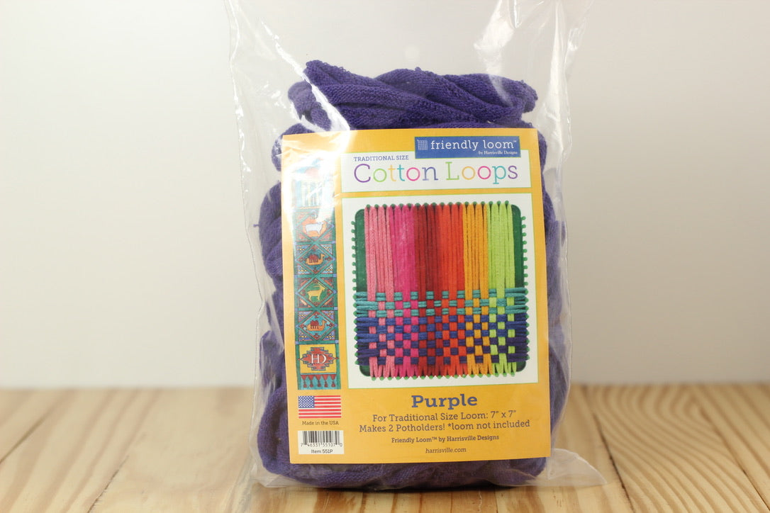 Traditional Loops Purple