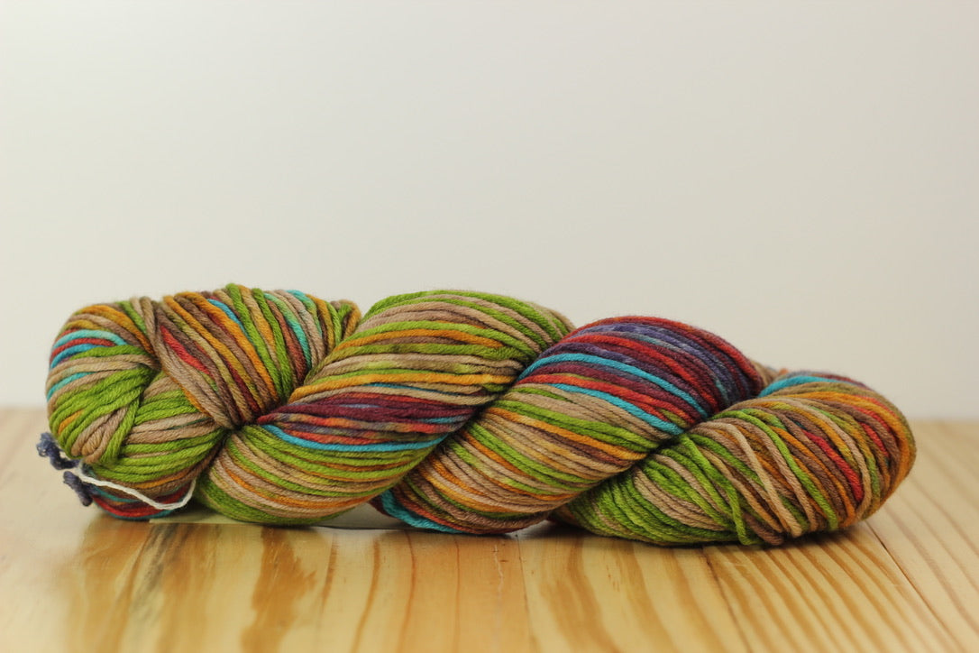 Uneek Worsted 4002 Teal Purple Sand