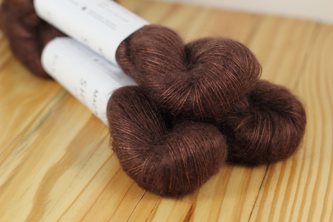 Madeline Tosh Silk Cloud Ironwood