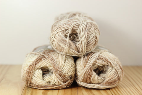 Silk Garden Sock S269 Komaki/Cream