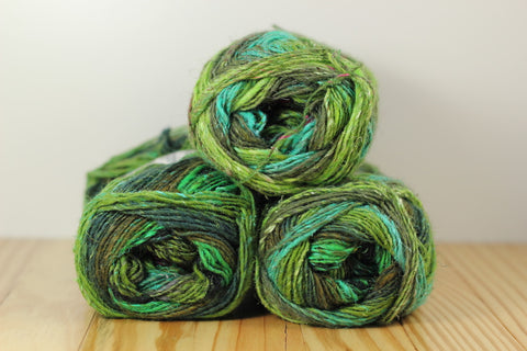 Silk Garden Sock S399 Tochigi/Green Teal