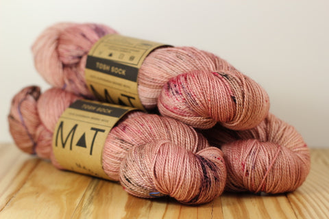 Tosh Sock Copper Pink