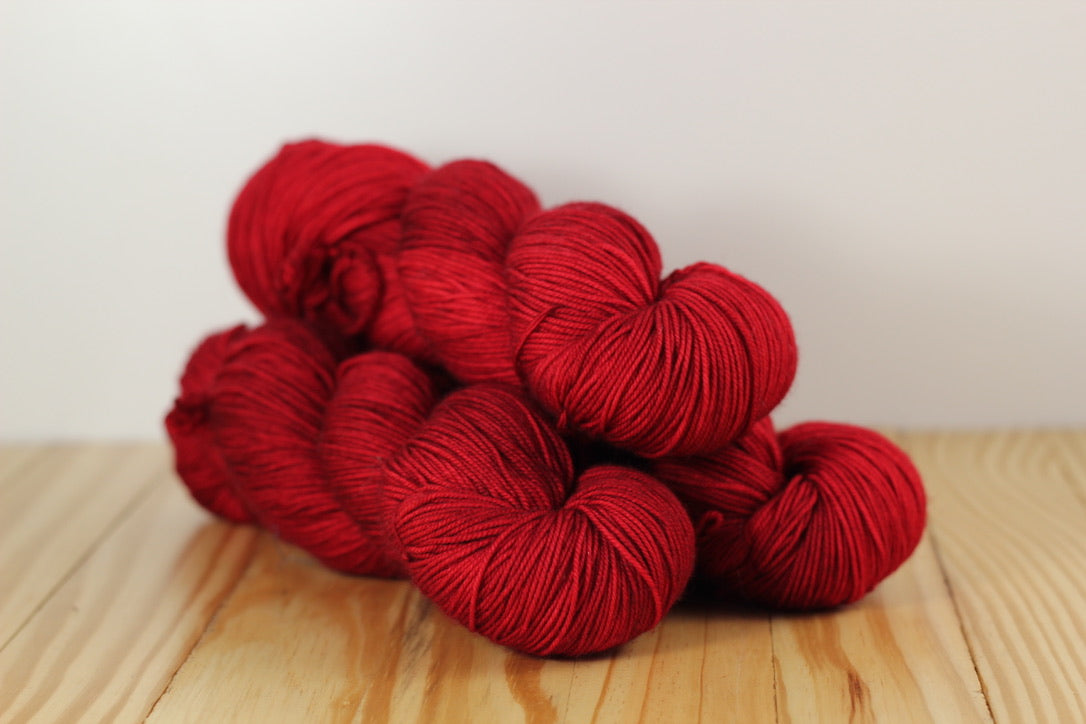 Sock 611 Ravelry Red