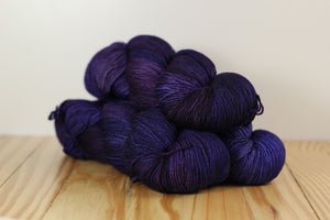 Sock 141 Dewberry