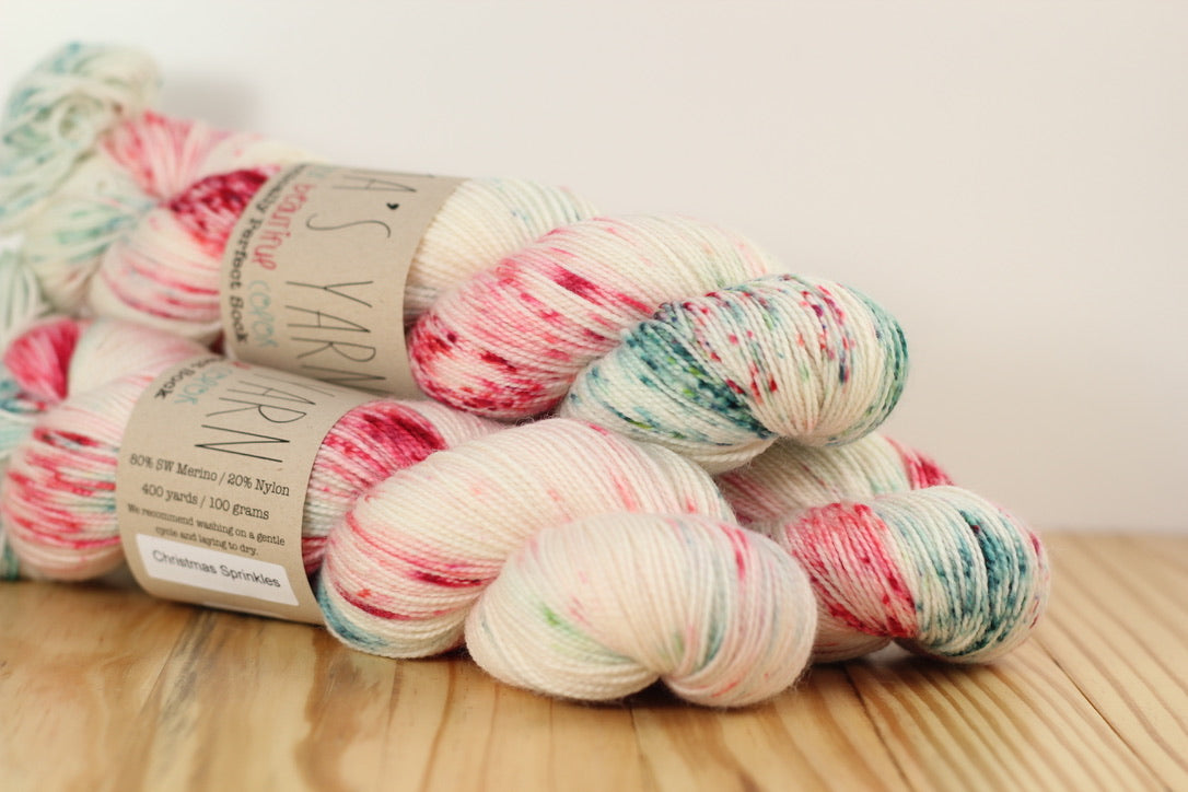 Practically Perfect Sock Christmas Sprinkles
