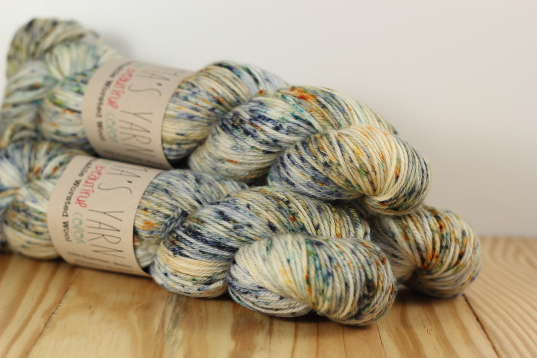 Washable Worsted Wool Yarn Husband