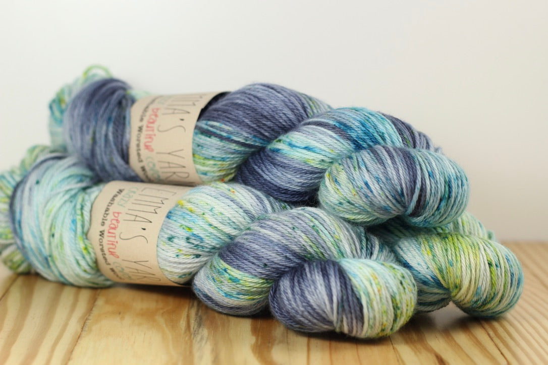 Washable Worsted Wool Everglades