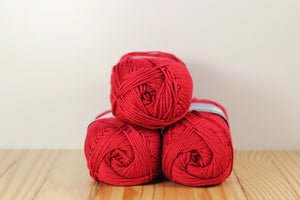 Comfort Worsted 9750 Primary Red