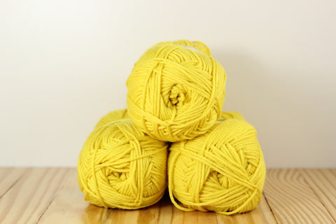 Comfort Worsted 9732 Primary Yellow