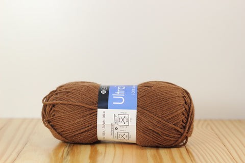 Ultra Wool Worsted 3323 Mocha