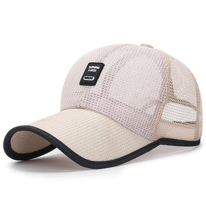 Summer sun protection baseball cap