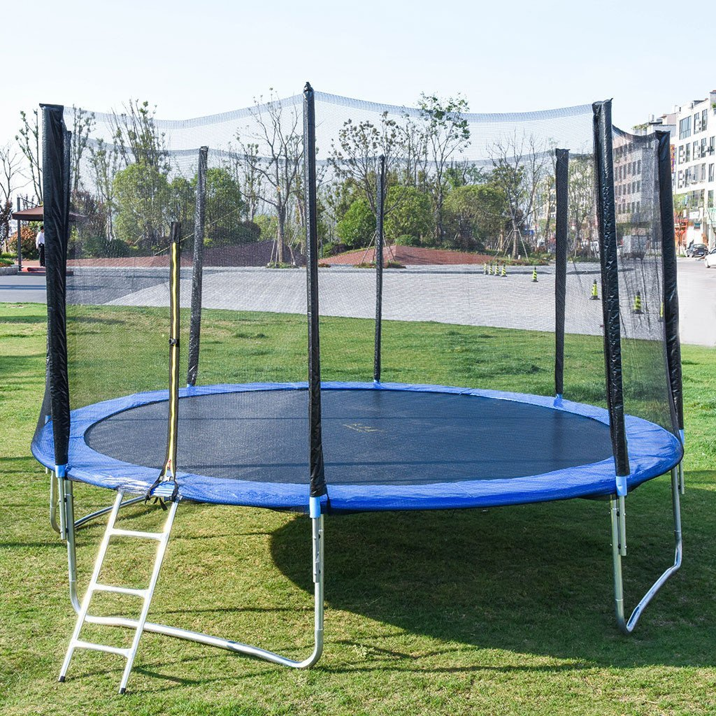 Kids Trampoline With Enclosure Net