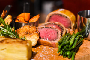 Easter Beef Wellington 3 course meal