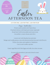 Load image into Gallery viewer, Easter Afternoon Tea