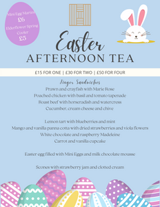 Easter Afternoon Tea