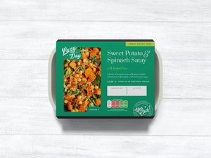 Vegan Sweet Potato and Spinach Satay Curry