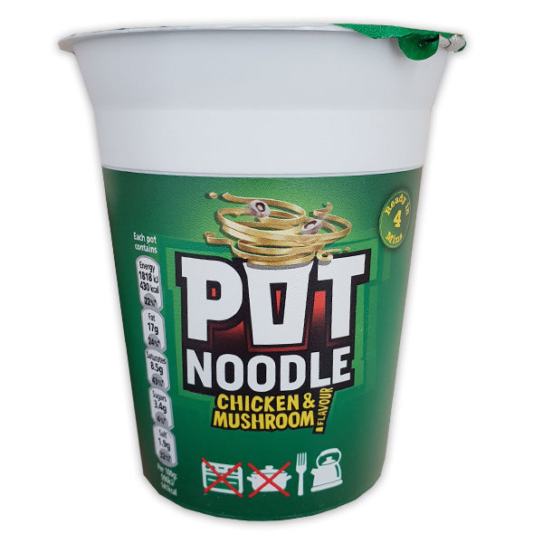 Pot Noodle - Chicken and Mushroom