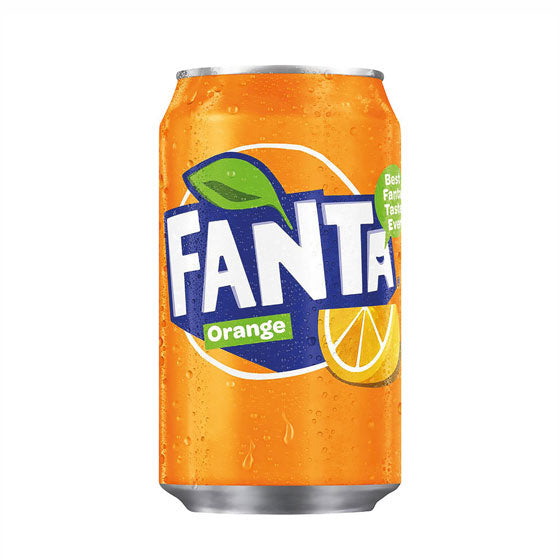 Fanta Orange, 330ml can
