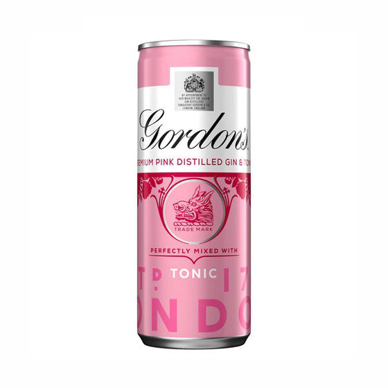 Gordon's Pink Gin & Tonic, can