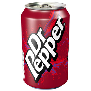 Dr. Pepper 330ml can