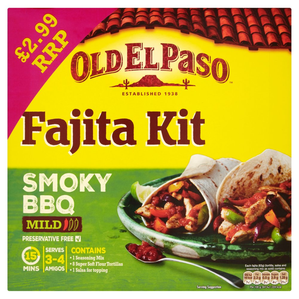 Fajita Kit - Smoky BBQ