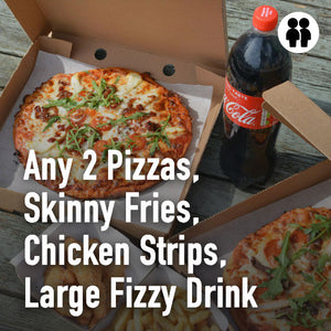Meal Deal A - Pizza Meal Deal to Share