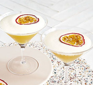 Passionfruit Martini in a Jar