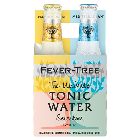 Fever Tree Mix Tonic Water 200ml x 4 Pack